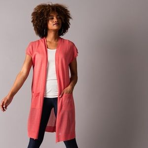 Sheer Duster Spiced Coral